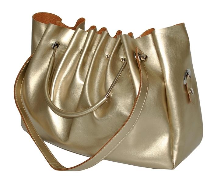 19fac831b4f8 Купить женскую сумку золотистого цвета 35453 А c доставкой по ...