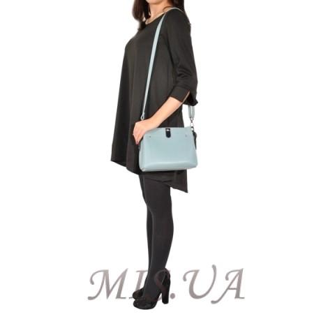 e49bd2b3c879 Купить женскую сумку голубым цветом 35605 c доставкой по Украине ...