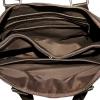 Мужской кожаный портфель 4369 коричневый 5