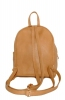 Leather backpack 2517 beige 5