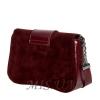 Женская замшевая сумка MIC 0708 марсала 4