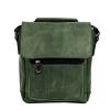 Мужская кожаная сумка Vesson 4639 зеленая 0