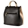 Женская сумка 35596-1 черная-комбинированая 3