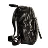 Женский кожаный рюкзак 381996 черный 2