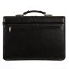Мужской кожаный портфель 4468 черный 4