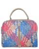 Женская сумка 35457 капучино с цветным принтом 0
