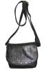 Женская сумка 35441 черная с тиснением 2