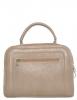 Женская сумка 35457 капучино с цветным принтом 1