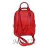 Городской кожаный рюкзак МIС 2636-1 красный 2