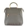 Женская сумка 35596-1 серая комбинированная 4