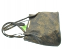 Женская сумка 35354 бронзовая 8