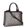 Женская сумка 35668 серебристая 3