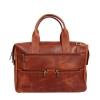 Мужской кожаный портфель Vesson 4631 рыжий 0