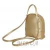 Женский рюкзак 35411 золотистый 4