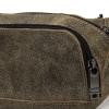 Мужская кожаная сумка 4276 хаки 3