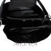 Женская замшевая сумка MIC 0703 черная 4