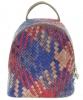 Женский рюкзак 35411 капучино с цветным принтом 2