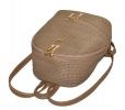 Женский рюкзак 35437 бежевый 5