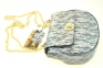 Женская сумка 2472 серебристая 6