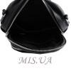 Женский кожаный сумка-рюкзак 2583 черный 6