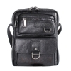 Мужская кожаная сумка Vesson  4553 черная 0