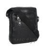 Men's leather bag 4584 is black(копия) 2