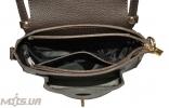 Женская сумка 35569 темно-коричнева 6