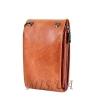 Мужская кожаная сумка Vesson 4555 рыжая 4