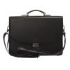 Мужской кожаный портфель 472 черный 3