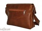Мужской портфель 4226  рыжий матовой 3
