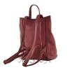 Female backpack 2569 burgundy 4
