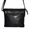 Женская кожаная сумка 2486 темно-синяя 4