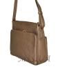 Женская сумка 35613 - 1 бронзовая 3