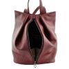 Female backpack 2569 burgundy 5