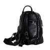 Женский кожаный сумка-рюкзак 2583 черный 5