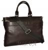Мужской кожаный портфель 4507 темно - коричневый 2