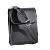 Мужская кожаная сумка Vesson 4556 черная 3