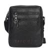 Men's leather bag 4584 is black(копия) 0