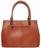 Женская сумка 35462 рыжая 3
