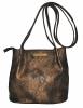 Женская сумка 35354 бронзовая 1