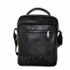 Мужская кожаная сумка Vesson  4575 черная 0