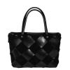 Женская замшевая сумка MIC 0734 черная 0