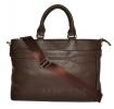 Мужской кожаный портфель 4507 коричневый 4