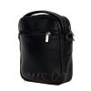 Men's leather bag 4608 black 4