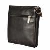 Мужская кожаная сумка 4513 черная 4