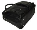 Мужской кожаный портфель-сумка 4368 черный 6