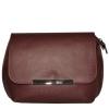 Женская кожаная сумка 2483 бордовая 0