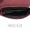 Женская сумка МІС 35810 бордовая 6