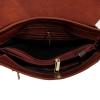 Мужская кожаная сумка Vesson 4623 рыжая 5