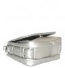 Женская сумка 35441 серебряная  3